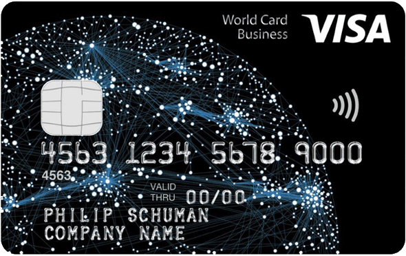 Visa World Card Business