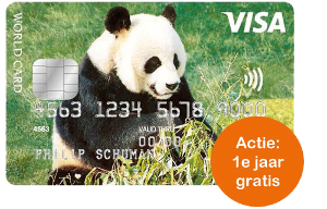 Visa World Card Panda